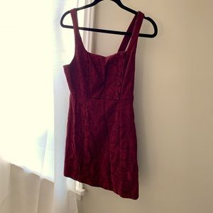 Burgundy Urban Outfitters Pinafore - size US 6